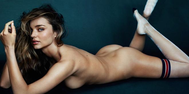 Miranda Kerr montre ses fesses pour GQ