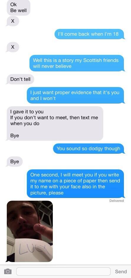 fin de la conversation