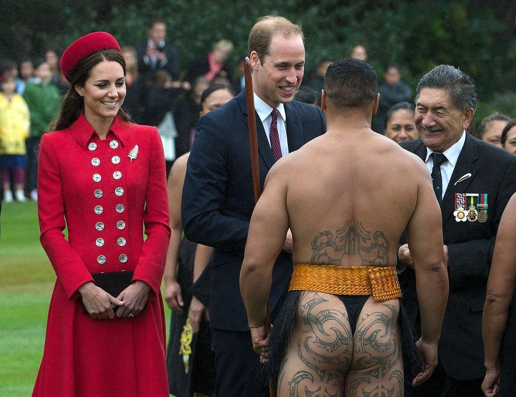 un guerrier maori
