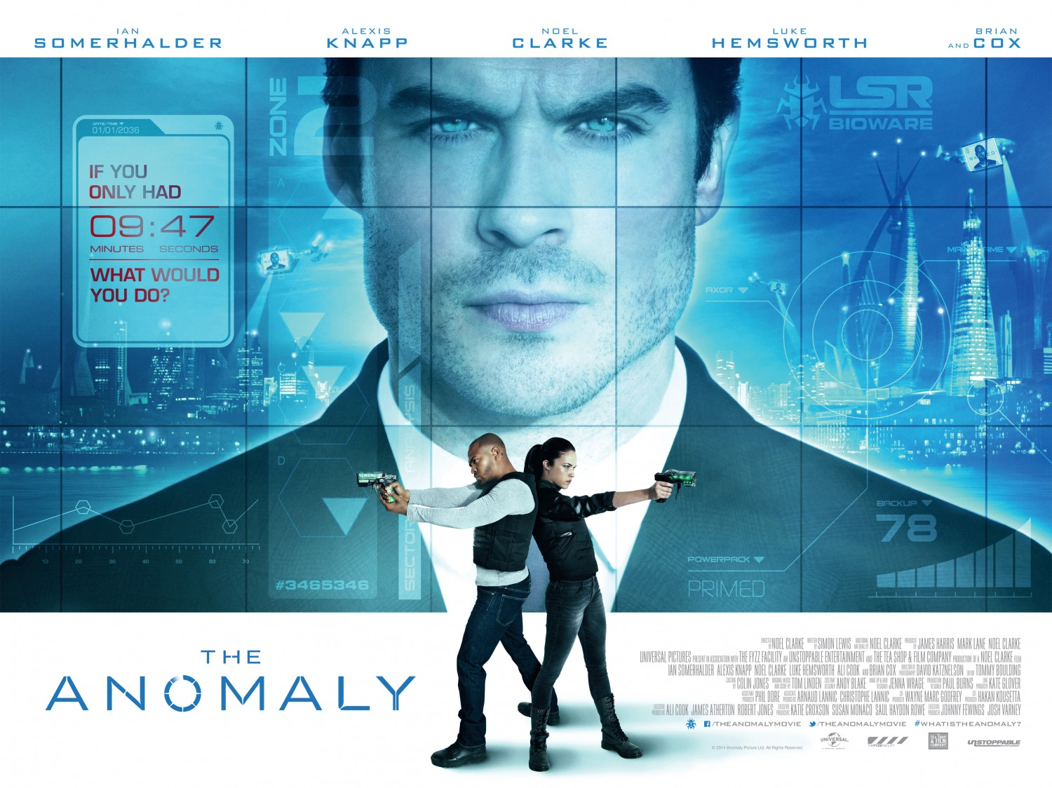 The Anomaly Affiche ian somerhalder