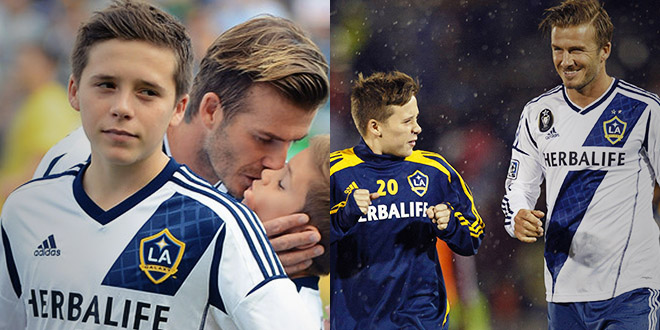 brooklyn beckham football tema los angeles