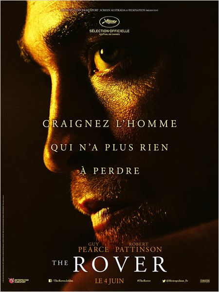 affiche officielle film the rover