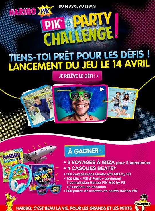 haribo pik challenge