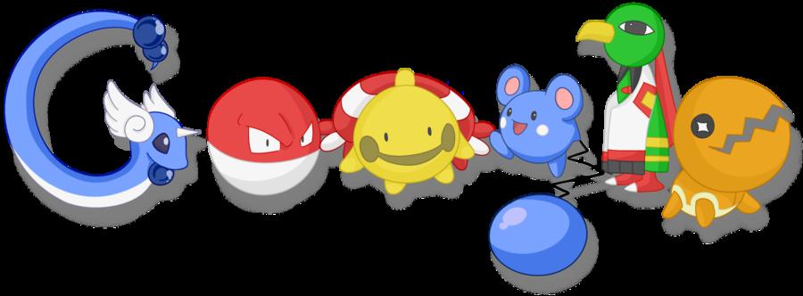 un doodle pokemon
