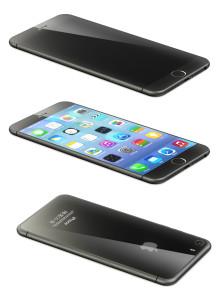concept du prochain iphone