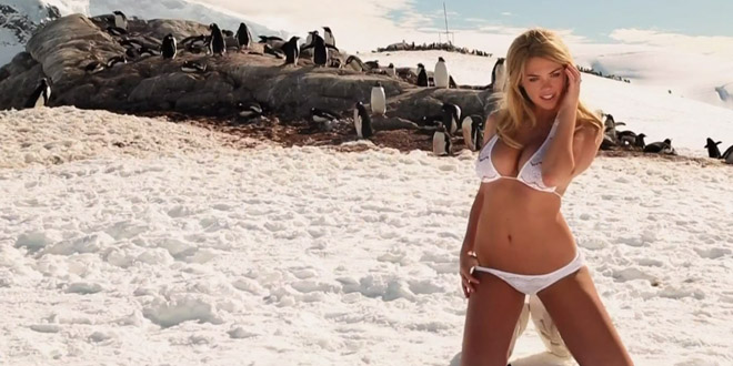 kate upton glace froid