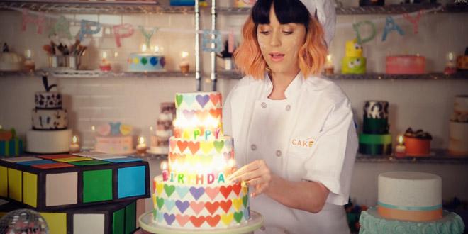 katy perry clip officiel birthday
