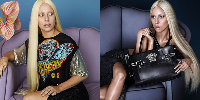 lady gaga versace photoshop