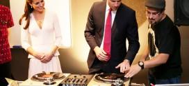 le prince William et Kate Middleton sont DJ !