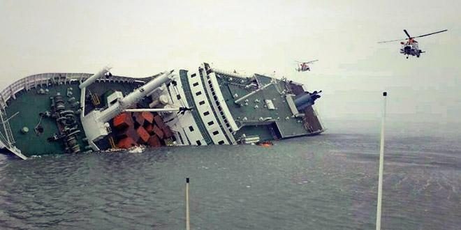 naufrage ferry coree du sud