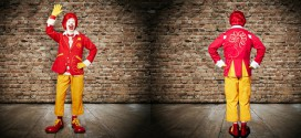 ronald mcdonald tenue habit
