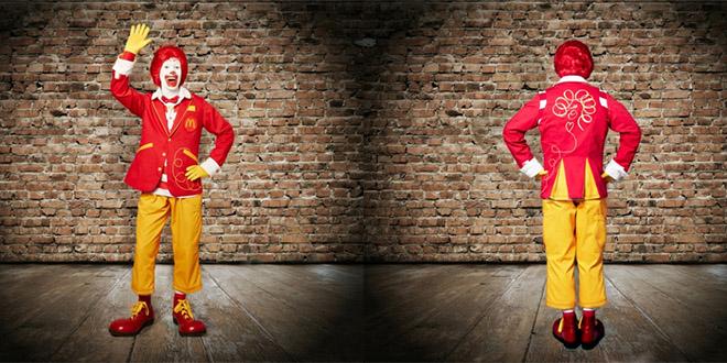 ronald mcdonald tenue habit
