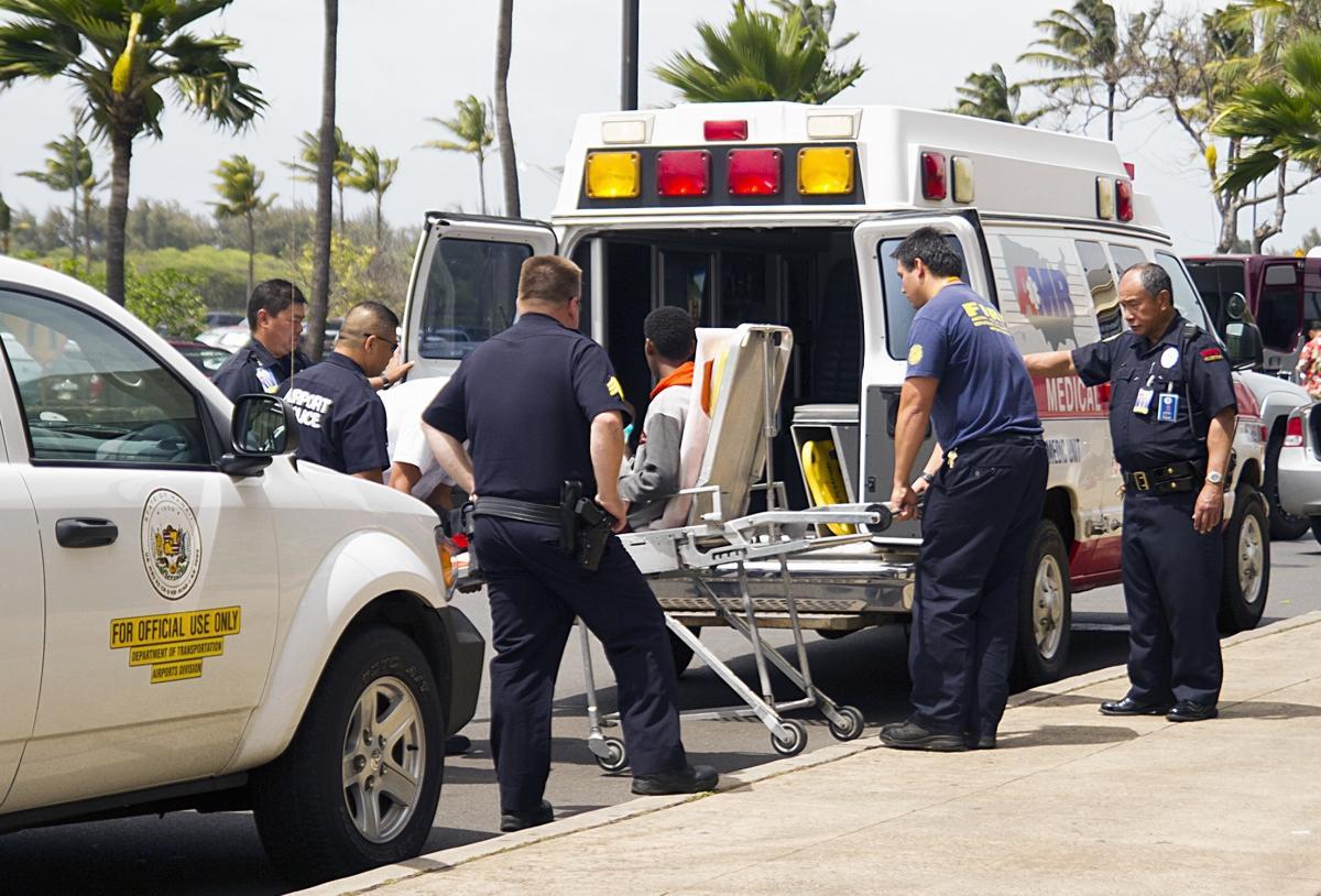 le jeune homme a été hospitalisé