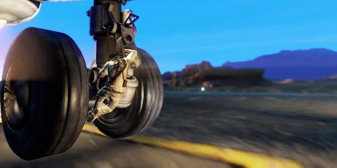 un ado survit en se cachant dans le train d'atterrissage d'un avion