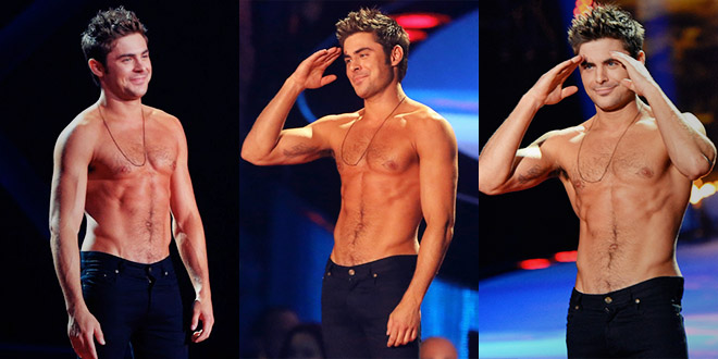 zac efron mtv movie awards 2014