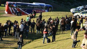 bus bleus detruit