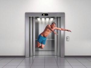 jay z dans l'ascenseur