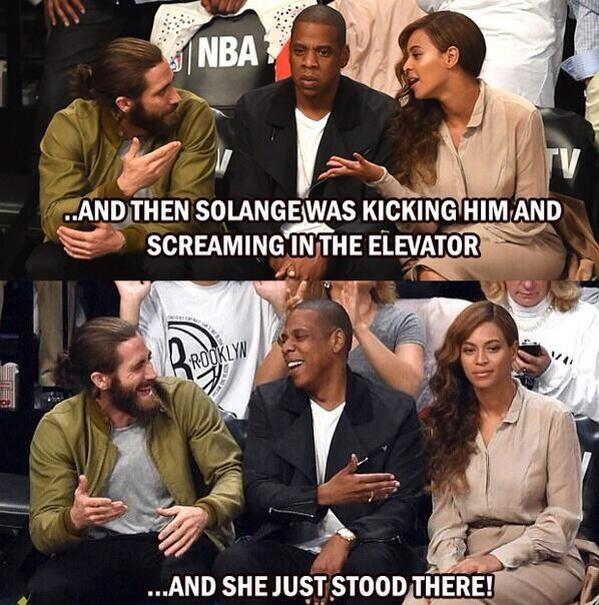 jay z reaction solange