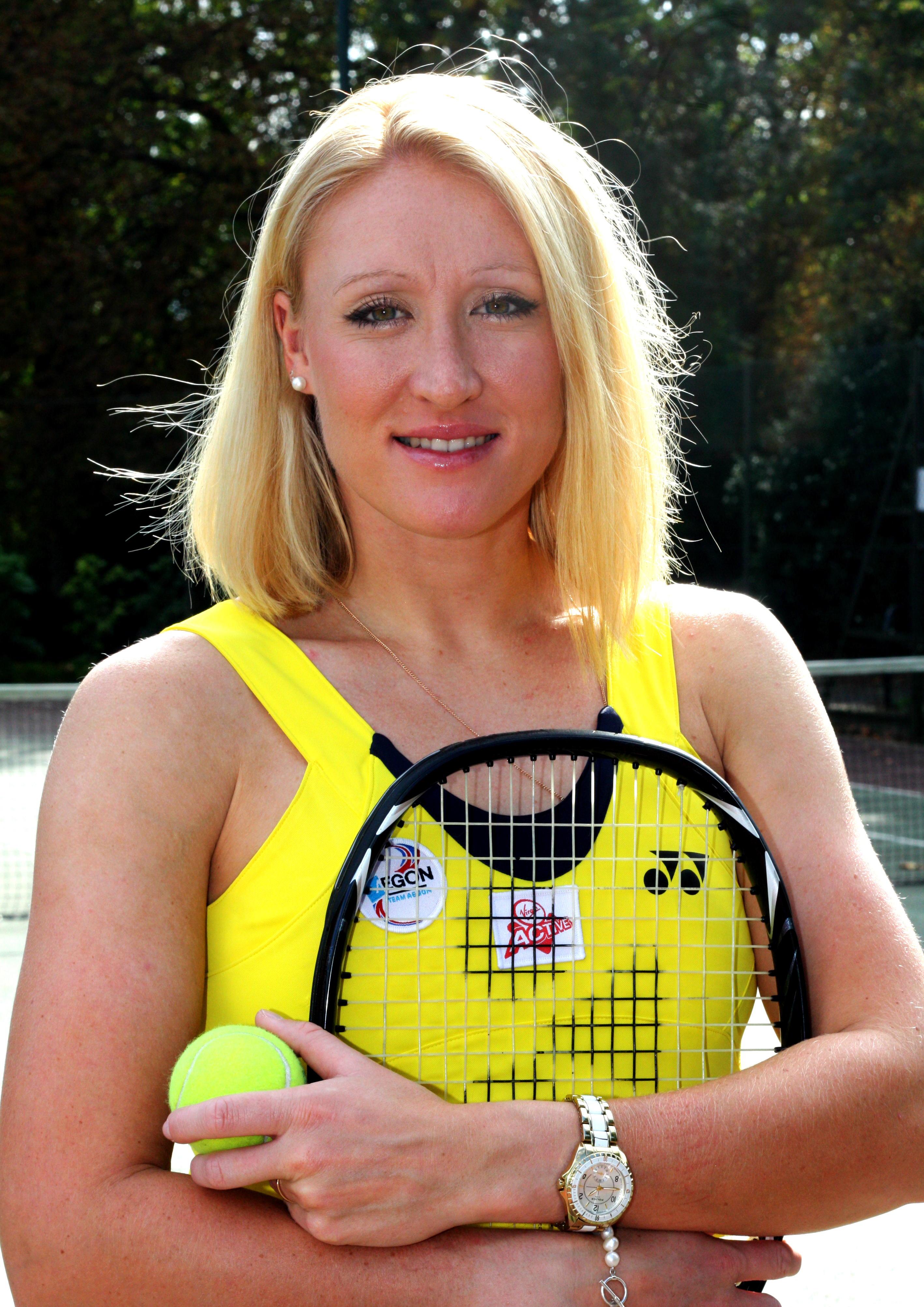 Elena Baltacha tenniswoman