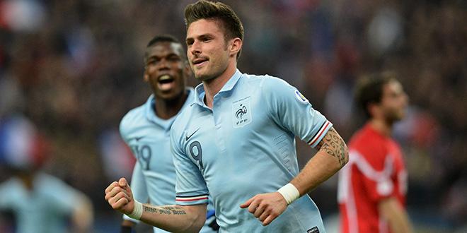 FOOTBALL : France vs Georgie - qualification coupe du monde 2014 - 22/03/2013