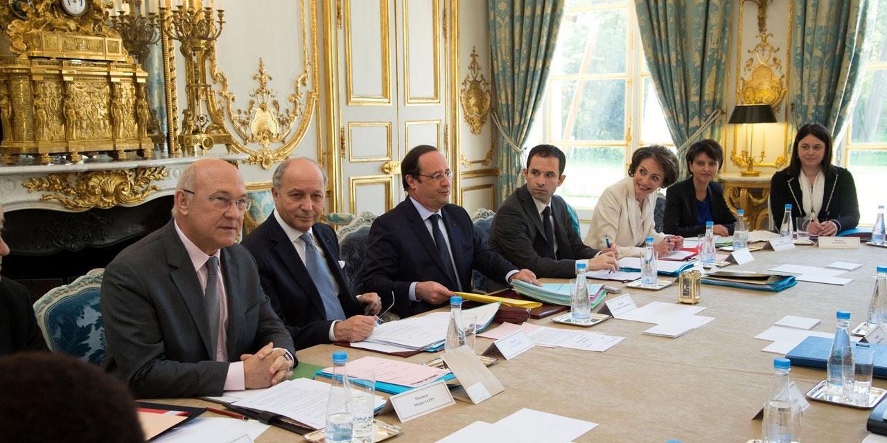 reunion de crise françois hollande