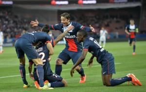 paris SG vs Rennes mai 2014