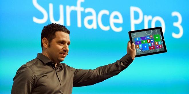 annonce de la tablette microsoft surface pro 3