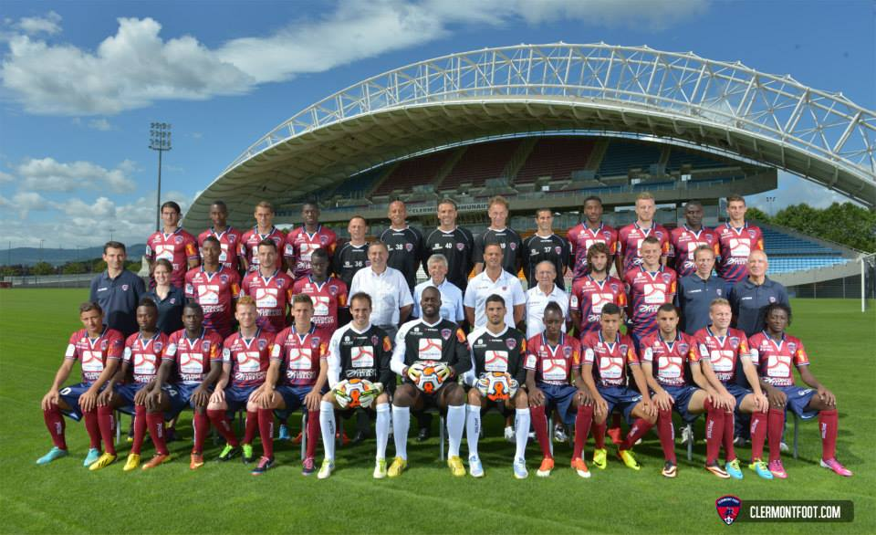 clermont foot equipe ligue2