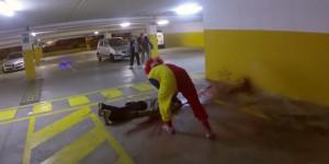 clown tueur camera cachee