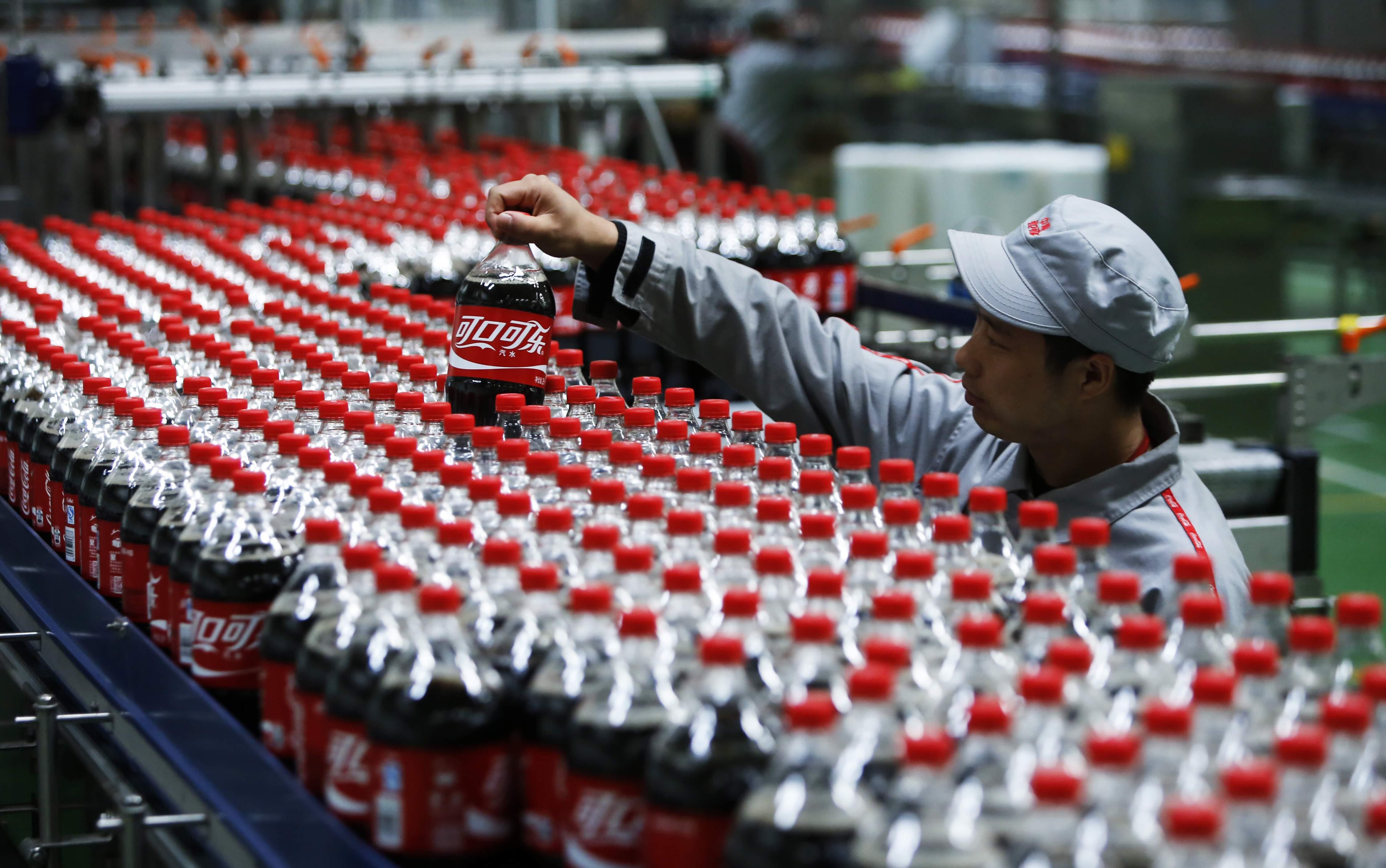 usine de coca cola