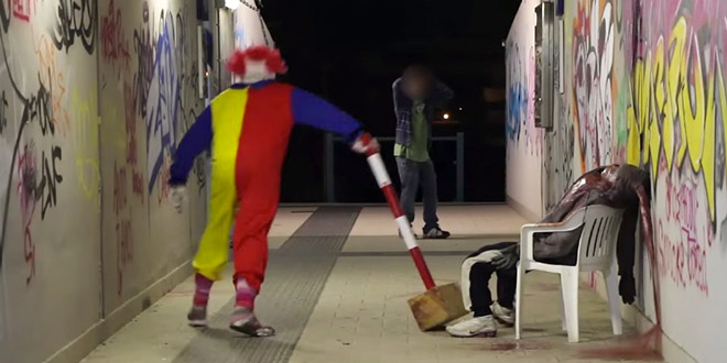 dmpranks pranks clown tueur