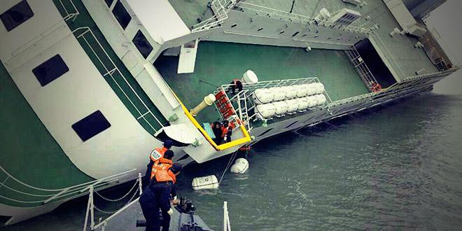 ferry naufrage coree du sud