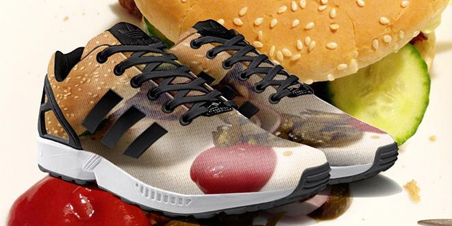 imprimer photo instagram sur zx flux adidas