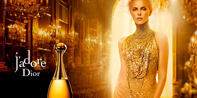 j adore dior parfum charize theron