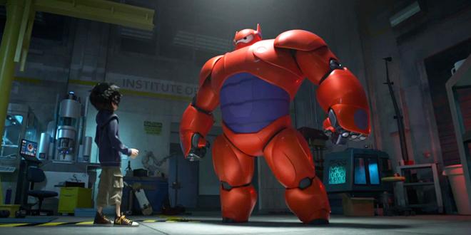 les nouveaux heros film disney marvel