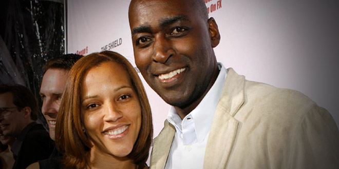 michael jace wife april