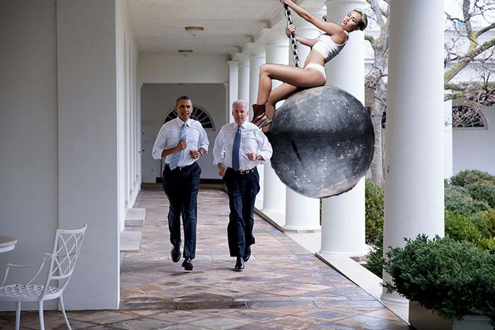 obama-biden-running-Miley-Cyrus