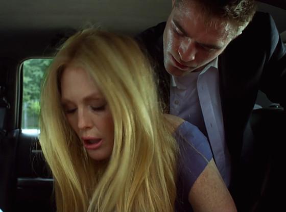 Julianne Moore et Robert Pattinson