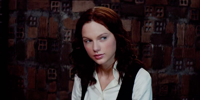 taylor swift actrice dans le film the giver