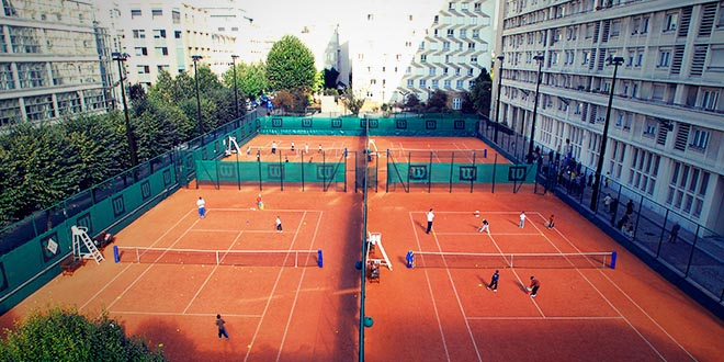 tennis club levallois