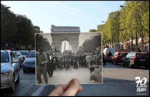 de gaulle liberation paris champs elysees