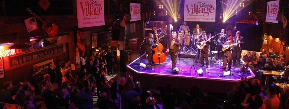 disney village concert