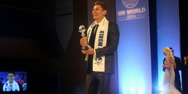 Nicklas Pedersen mister world 2014