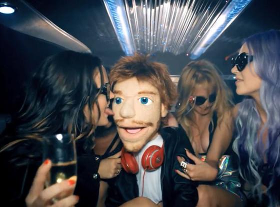 ed sheeran clip sing