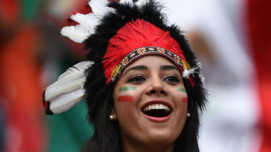 Les plus belles supportrices de la coupe du monde 2014 Mexique
