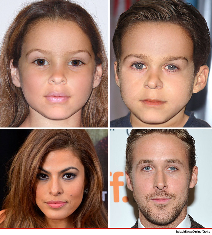 eva mendes ryan gosling enfant bébé on connait le sexe photo garçon