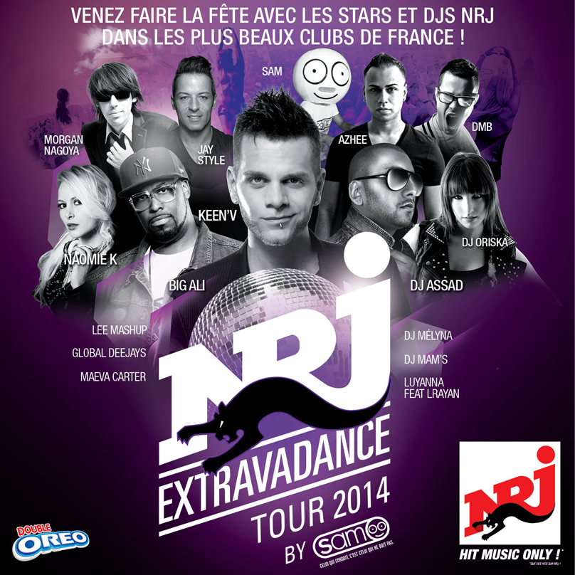 NRJ Extravadance Tour By Sam