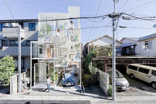 top maisons insolites maison transparente japon