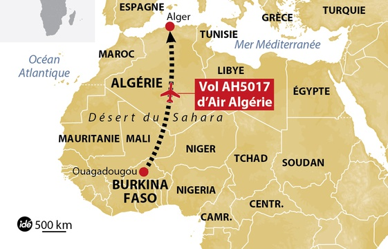 air algerie un avion disparait