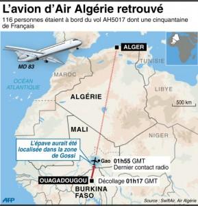 avion air algerie ah5017